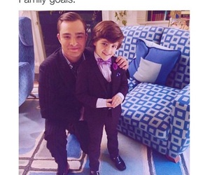 chuck bass, goals, and family image