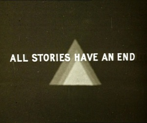 story, end, and quotes image