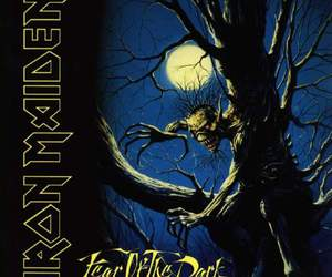 iron maiden, fear of the dark, and rock image