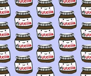 nutella, purple, and wallper image