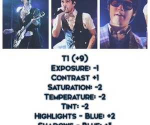 blue, brendon urie, and concerts image