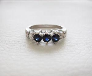 band, diamonds, and ring image