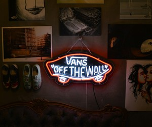 vans, shoes, and light image