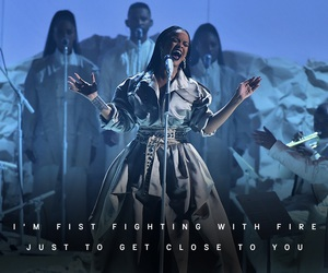 performance, rihanna, and stay image