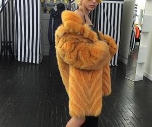 fur, fashion, and girl image