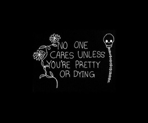 black, pretty, and dying image