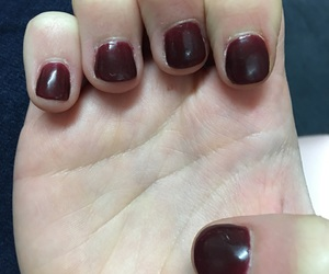 manicure, nails, and pretty image