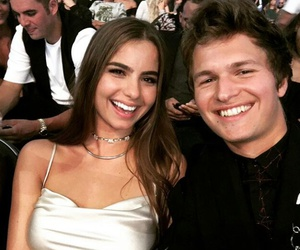 couple, love, and ansel elgort image