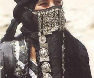 culture, middle east, and niqab image