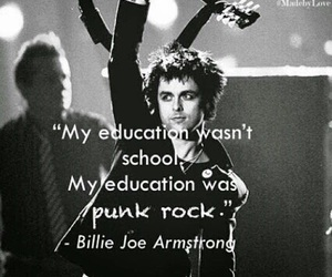 education, green day, and music image