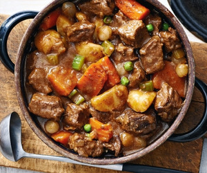 beef, carrot, and herb image