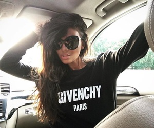 brunette and Givenchy image