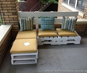 pallet sofa, pallet sofa ideas, and pallet sofa designs image