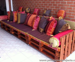 pallet sofa, pallet sofa ideas, and diy pallet sofa image