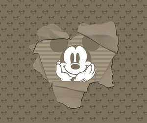 android, brown, and disney image