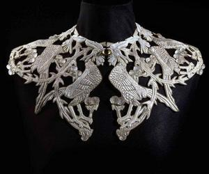 birds, silver, and lalique image