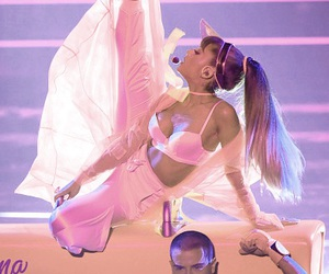 ariana grande, side to side, and vmas image