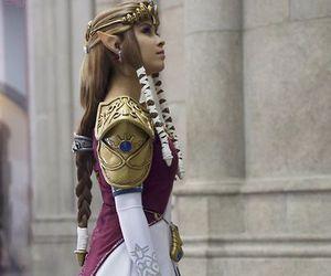 cosplay, zelda, and game image