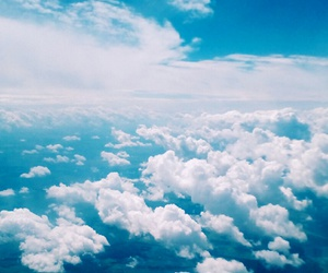 alternative, blue, and cloud image