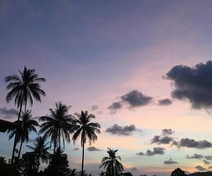 sky, summer, and grunge image
