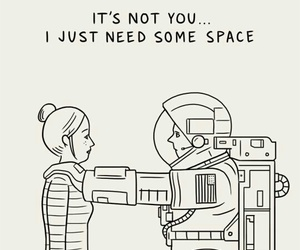 space and quotes image