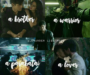the mortal instruments, brotp, and maleç image