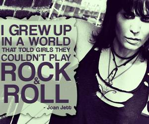 joan jett, quote, and rock n roll image