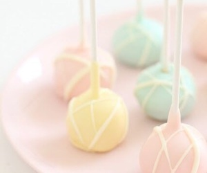 pastel, food, and cake pops image
