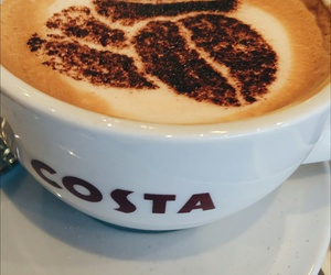 coffee, costacoffee, and costa image
