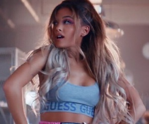 ariana grande, side to side, and music image