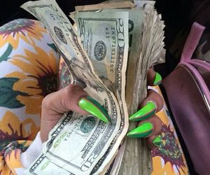 money and nails image