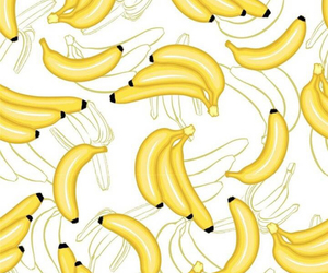 background, banana, and pattern image