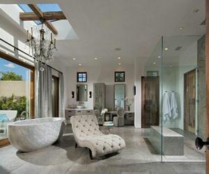 bathroom, cool, and home image