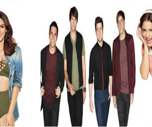 victoria justice, martina stoessel, and big time rush image