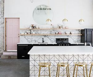 decor, kitchen, and home image