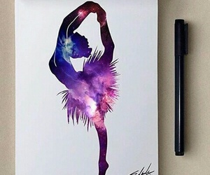 art, draw, and dance image