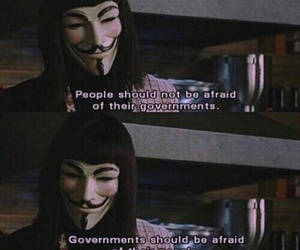 v for vendetta, quotes, and government image