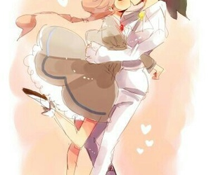 anime, couple, and princess tutu image
