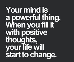quotes, positive, and change image