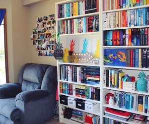 bibliophile, books, and bookshelf image