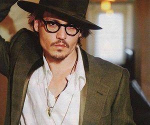 johnny depp, sexy, and actor image