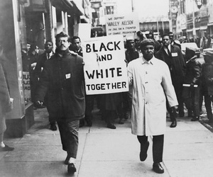 equality and black and white image