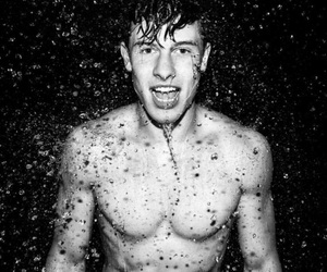 black and white, photography, and shawn mendes image