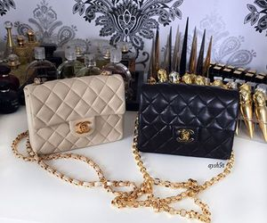 bag, chanel, and pretty image