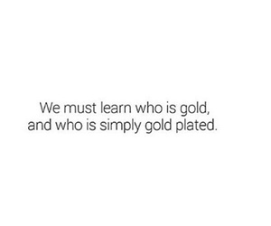 quote, gold, and true image