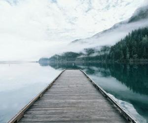 water, lake, and nature image