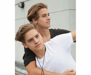 cole sprouse, dylan sprouse, and brothers image
