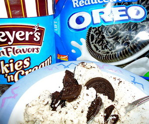 cookie, oreo, and yummy image