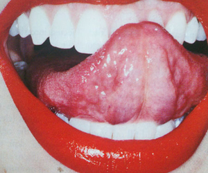 lips, red, and tongue image
