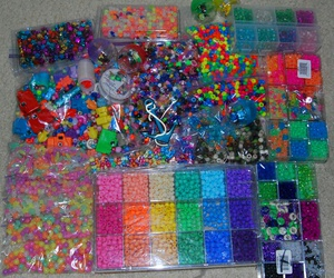 90s, beads, and colors image